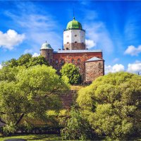 Крепость св.Олафа в Выборге :: Ирина Лепнёва