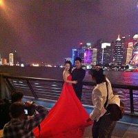 Свадебная  фото сессия  на  набережной ! :: Виталий Селиванов