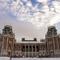 Дворец Царицыно. Правое крыло :: Сергей Федоткин
