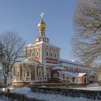 Успенская церковь Новодевичьего монастыря :: Игорь Егоров