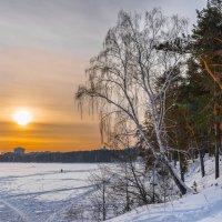 Утро на озере :: Александр К.