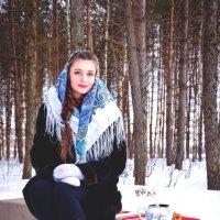 """Фотопроек """"Русская красавица"""" :: Каролина Савельева"""
