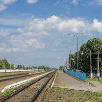 Маленькая железнодорожная станция :: Игорь Сикорский