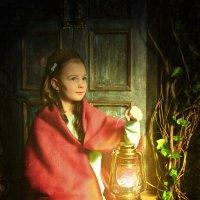 Портрет девочки с фонарём :: Алексей Кривцов