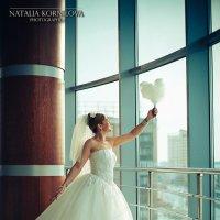 Невеста и облачко-сердце.. :: Наталья Корнилова