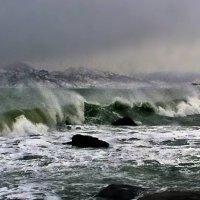борьба стихий волн и ветра :: viton