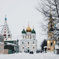 Соборная площадь. :: Ирина Нафаня