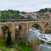 Puente de San Martin, Toledo, SPAIN :: Евгений Мунтян