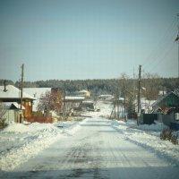Я ж, однажды, деревеньку полюбила навсегда. :: Лара Гамильтон