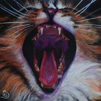 Я больна хорошим настроением. Моя задача заразить всех вАААААС!!! (Картина написана пастелью). :: Лара Гамильтон