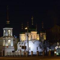 Храм Живоначальной Троицы в Листах - один из старейших в Москве. :: Юрий Бичеров