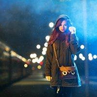 Девушка из поезда... :: Ирина Малеева