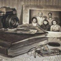 Старые фото, как память из прошлого.. :: Елена Данько