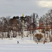 зима в Царицино :: Валентина. .
