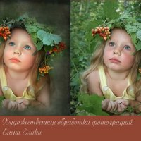 лесная красавица :: Елена Елаки