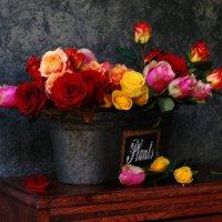 Мужчины! Не экономьте на розах — женщины вам этого не простят… :: Лара Гамильтон