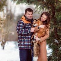Прогулка с лисичкой :: Юлия Трошина