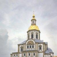 Новоотстроенный храм Дивеевского монастыря. :: Александр Назаров