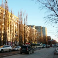Улицы города :: Надежда
