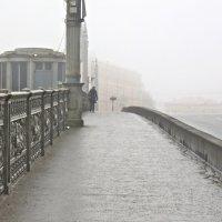в туман по Благовещенскому :: Елена