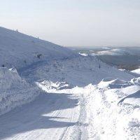 Снежные дороги Якутии :: Natalia Petrenko
