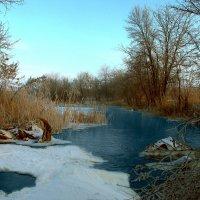 Зимняя река :: Алексей С.
