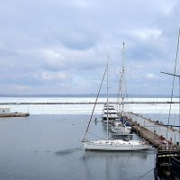 Ледяное Черное море ( 2 ) :: Людмила