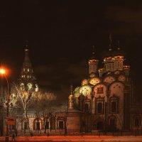 Храм Николая Чудотворца в Хамовниках. :: Oleg4618 Шутченко