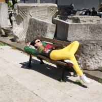 Отдых после обеда (повседневная жизнь Стамбула) :: Юлия Фотолюбитель