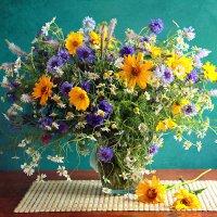 Букет полевых цветов :: alfina