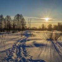 Зимний пейзаж :: Андрей Дворников
