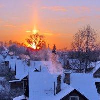 Вид с крыши-закат :: Алексей Цветков