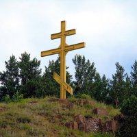 Нижнеудинск. Крест на горе Вознесенка. :: Валентин Когун