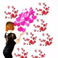 Всем!Всем!Мои валентинки! :: Роза Бара