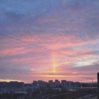 Облака на рассвете :: Жанна Литуева
