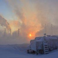 Утро на замороженной планете... :: Витас Бенета