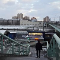 Инфраструктура подмосковных Люберец в феврале 2017 года. :: Ольга Кривых