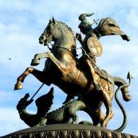 Символ Москвы, Георгий Победоносец. :: Владимир Драгунский