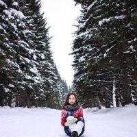 Девушка в ботсаду :: Екатерина Потапова