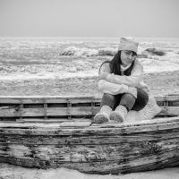 У зимнего моря :: VV Kurov Куров