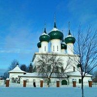 Николо-Мельницкая церковь 1672г. :: Tata Wolf