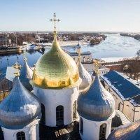 Купола Софийского собора :: Павел Москалёв