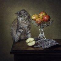 Масяня и яблоки :: Ирина Приходько