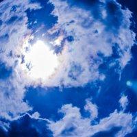 какое  небо голубое :: Niki_ Nik