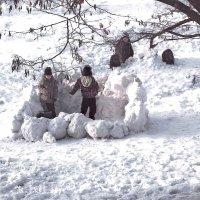 Снежная крепость :: super-krokus.tur ( Наталья )