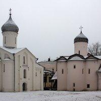 Церковь Жен-Мироносиц.Церковь Прокопия. :: Ольга Лиманская