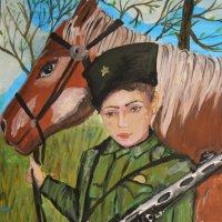 """Выставка рисунков к фестивалю """"Афганский ветер"""" :: Анна Шишалова"""