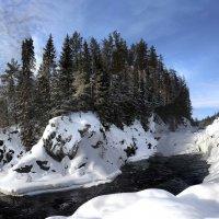 Водопад Кивач, Карелия. :: Юстас Еркко-Balnanosis