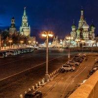 Вид на Кремль с Большого Москворецкого моста (2) :: Борис Гольдберг