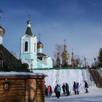 Иоанно-Предтеченский мужской монастырь.Основан в 1688 году. :: Александр Селезнев